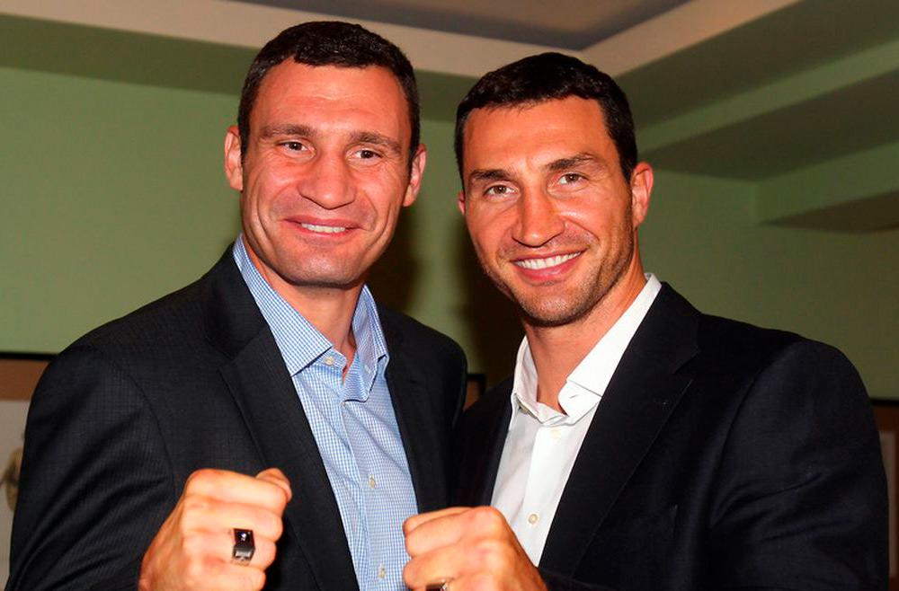 The Klitschko brothers